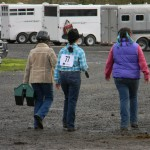 Friends at the horse show